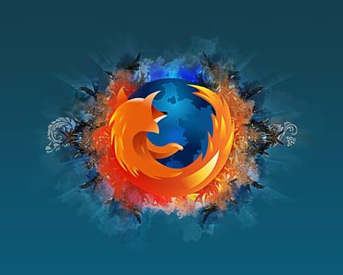 Abstract Firefox Wallpaper by SteaM10