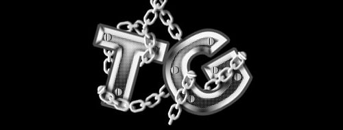 chained text photoshop tutorial