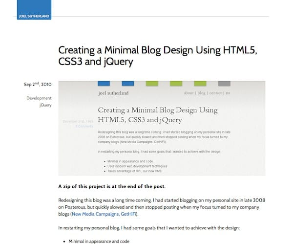 20 Useful HTML5 Tutorials For You To Get Started 11