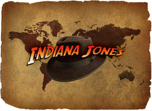 indiana jones movie text