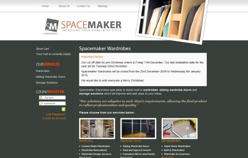 Spacemaker Wardrobes