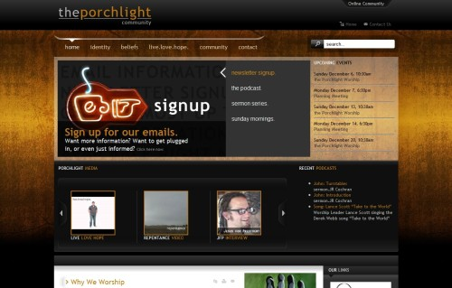 The Porchlight Community