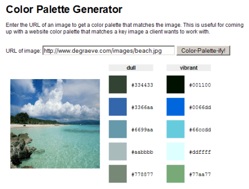 the ultimate list of online color tools for web developers