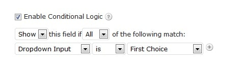 The power of Conditional Logic