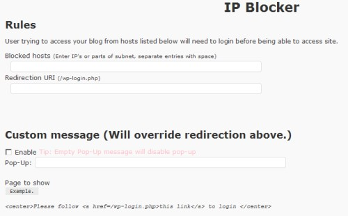 IP Host Blocker