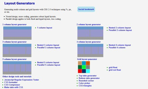 layout-generator-by-pagecolumn