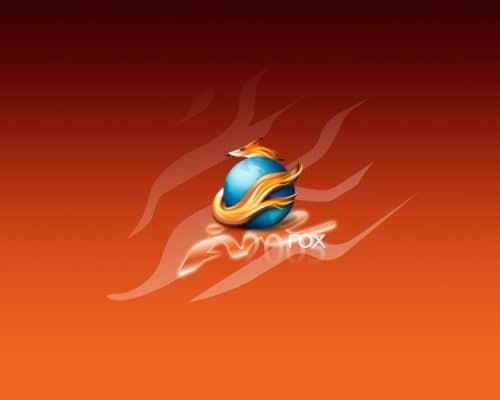 Firefox Wallpaper by weboso