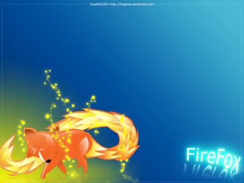 FireFox Wallpaper by thegmer