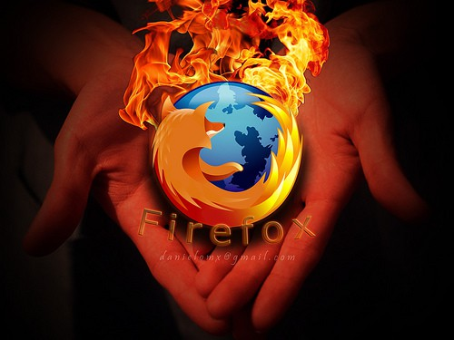 Firefox on Flames xD
