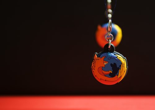 Firefox wallpaper just a matter of perspective
