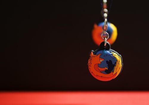 Firefox wallpaper just a matter of perspective