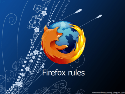 Firefox rules Wallpaper by Maxtorade
