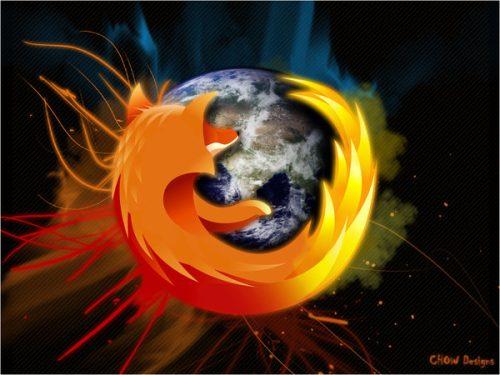 Wallpaper Firefox by Greiker