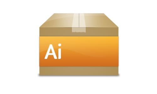 Create an Adobe Box Icon in Photoshop