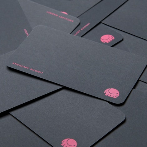Ancillary Magnet Brand Identity And Business Card