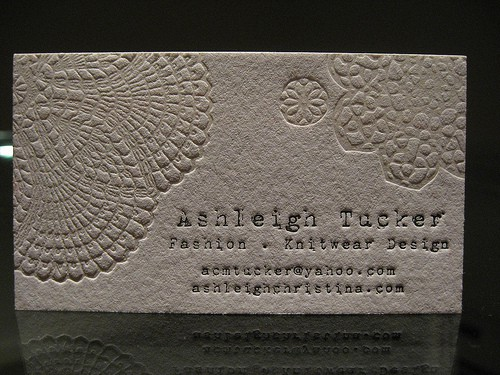 Ashleigh Tucker Business Card