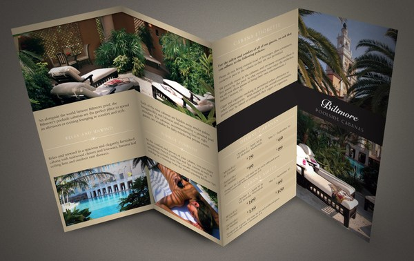35 inspirational rack card designs web design booth for Hotel brochure design inspiration