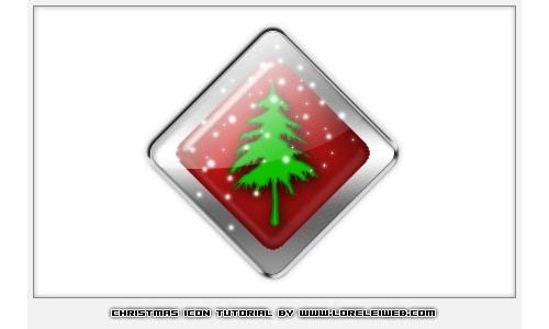 Christmas Icon Tutorial