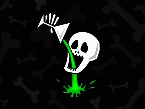 Comic Skull