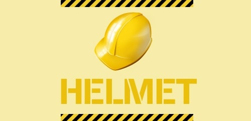 Creating a Cool Yellow Helmet Icon