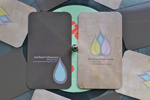 Dew Drop Design House cards