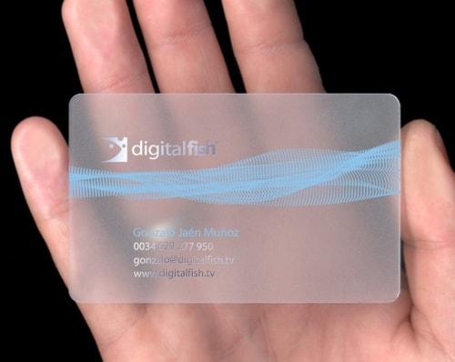 Digital Fish Business Card