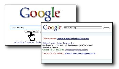 Google Business Card