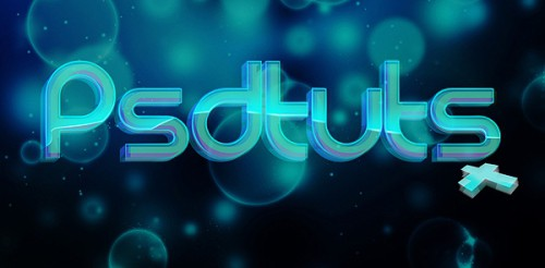 gorgeous glassy text effect