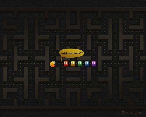 Halloween: Trick or Treat? (Pac-Man Edition)