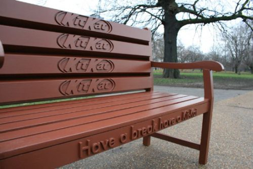 Have A Break Have A Kit-Kat Bench