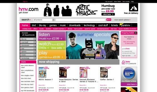 hmv.com