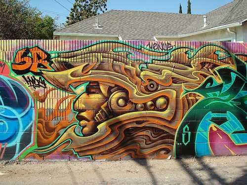 60 beautiful and creative graffiti arts web design booth for Beautiful creative art