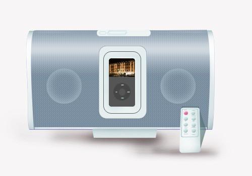 Photoshop Ipod Portable Speaker Icon