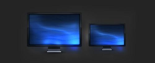 Monitor Icon Design – Photoshop Tutorial