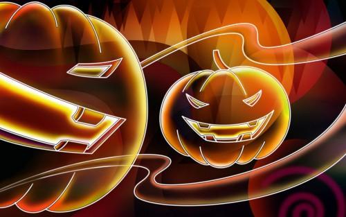 Neon Halloween