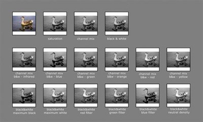 Photoshop Black And White Cheat Sheet