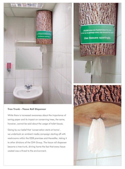 Public Awarness | Tree Trunk