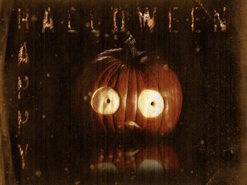 Scared Pumpkin