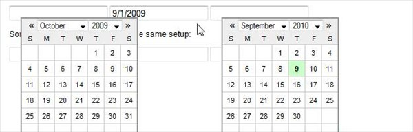 Simple jQuery Date Picker
