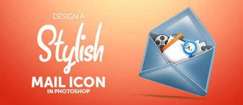 Design a Stylish Mail Icon in Photoshop
