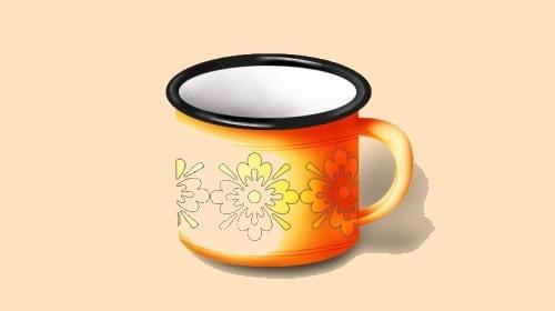 Photoshop Tea Cup Icon
