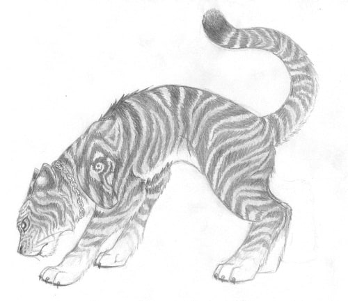 Traditional Tiger 4
