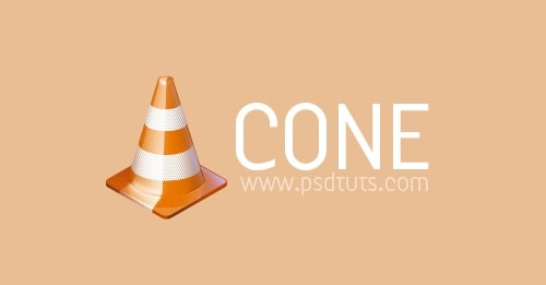 Illustrate a Traffic Cone Icon in Photoshop