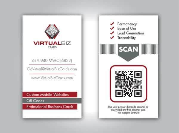 40 creative uses of qr code in business card web design booth of qr code in business cards reheart Gallery
