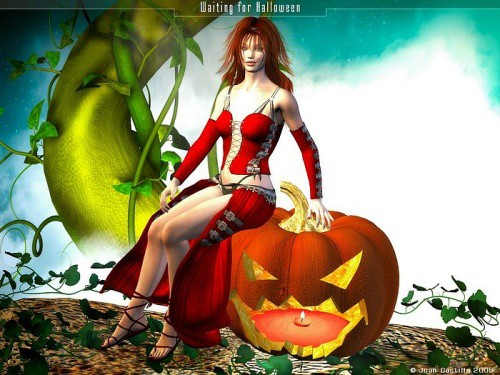 Waiting for Halloween