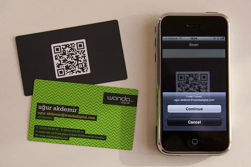 Wanda Digital - QR Business Cards
