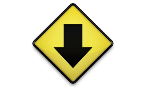 Yellow Road Sign Icons