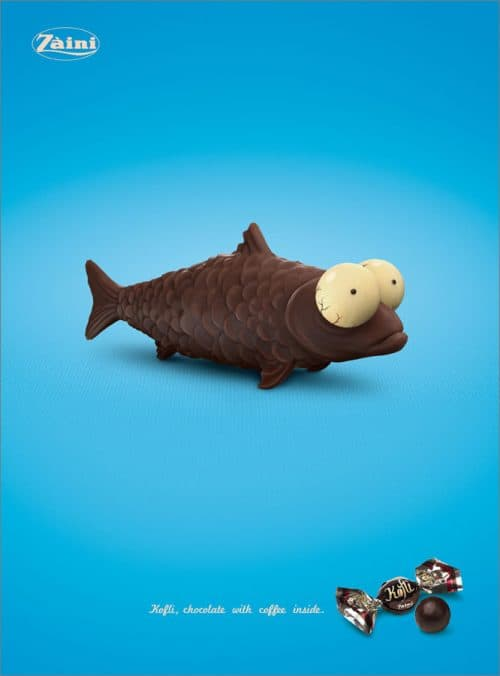 Zaini Chocolate Fish
