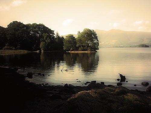 A romantic landscape