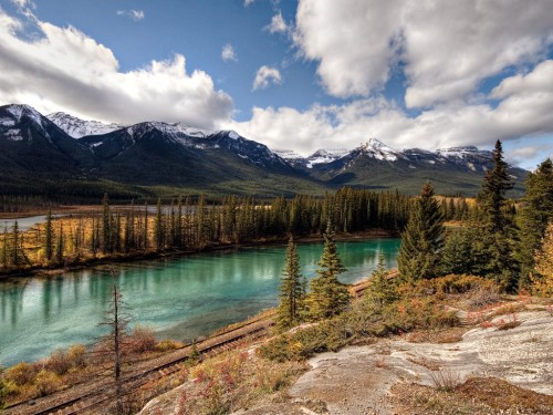 Banff National Park: Canadian Pacific Railway